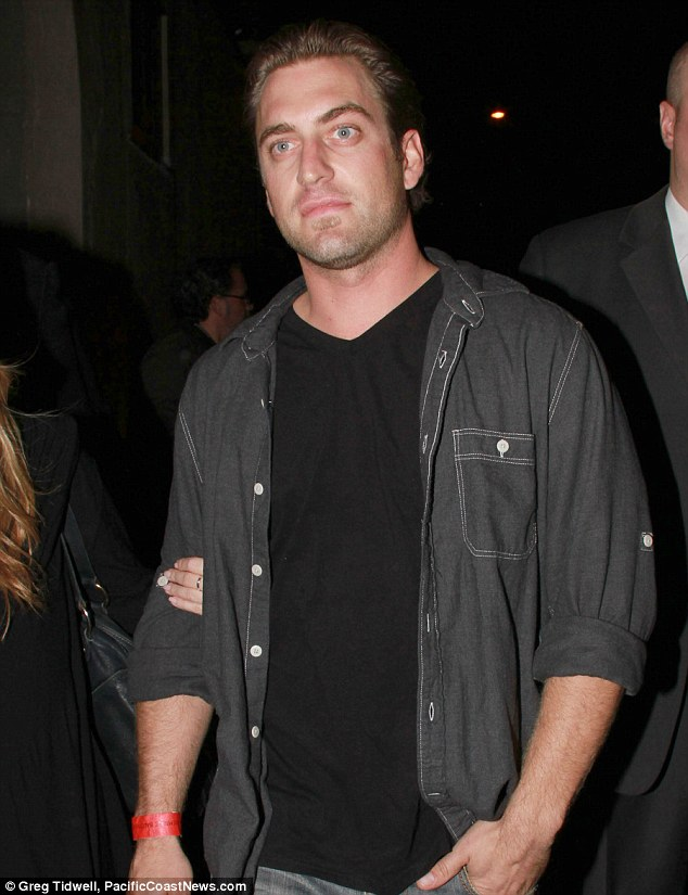 Injured: Mel Gibson's cameraman son Christian, shown in 2010 in West Holywood, California, was burnt last month while filming a movie in Mexico  (dailymail)