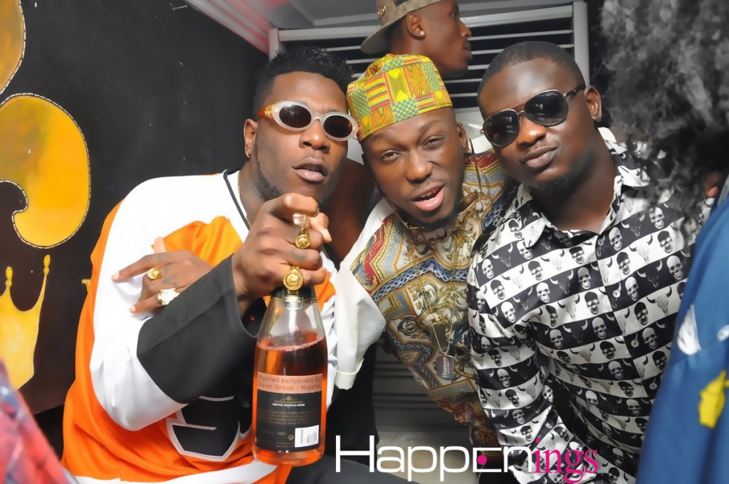 Burna Boy, Dj Spinall & Wande Coal