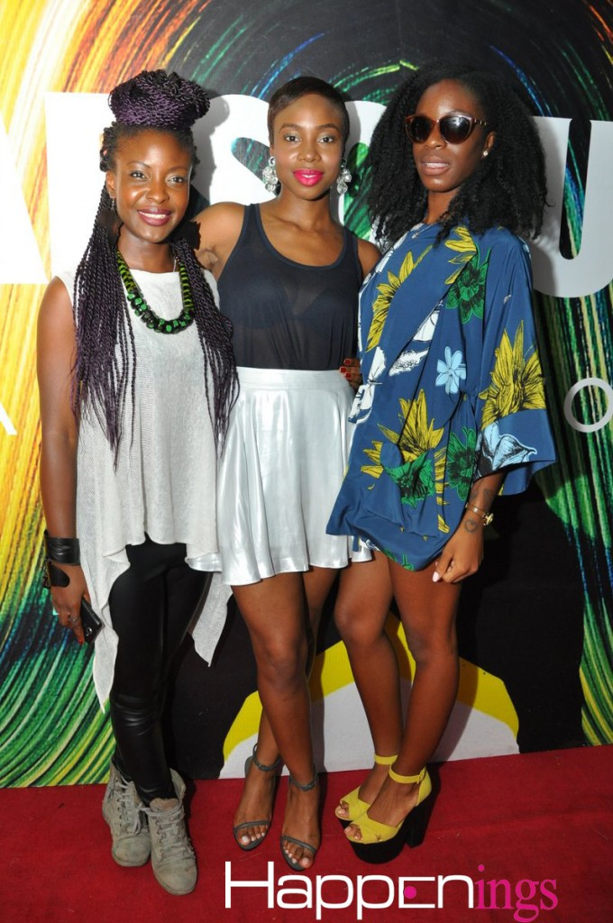 Folu Storms, Maria Okanrede & Friend