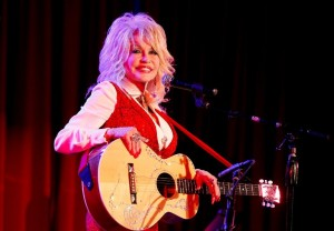 Dolly Parton performs at an event on April 18, 2014 in Nashville, Tennessee Getty (AFP) photo:  Terry Wyatt