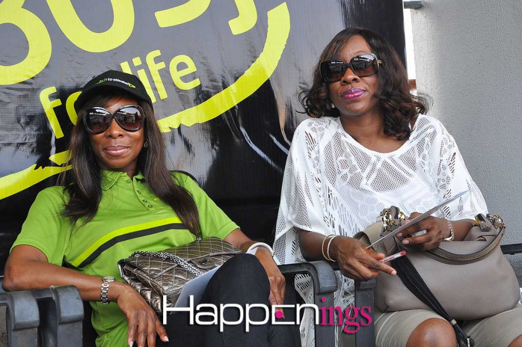 Director of Etisalat Nigeria - Ndidi Okpaluba and friend