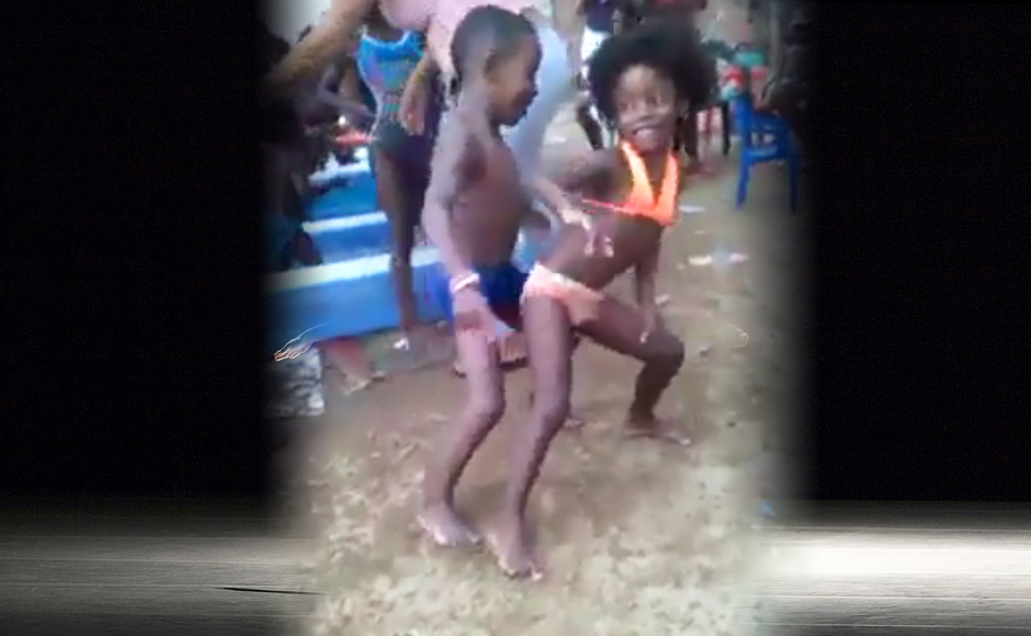 Girl Bumping And Grinding