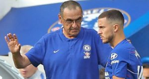 Sarri and Hazard