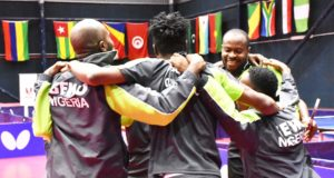 Nigeria's men table tennis team
