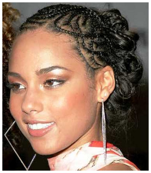 Consider, that Alicia keys hairstyles can