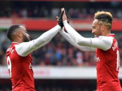 Arsenal strikers