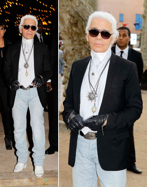 karl-lagerfeld-wearing-whitewashed-jeans-white-boots