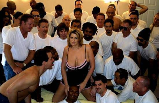 Has world record gangbang hot !!!
