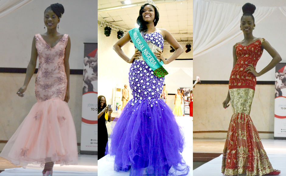 Our favorite evening dresses from the Miss Ideal Nigeria beauty ...