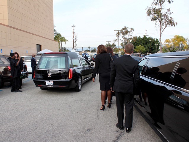 natalie-funeral-forest-lawn-hearse