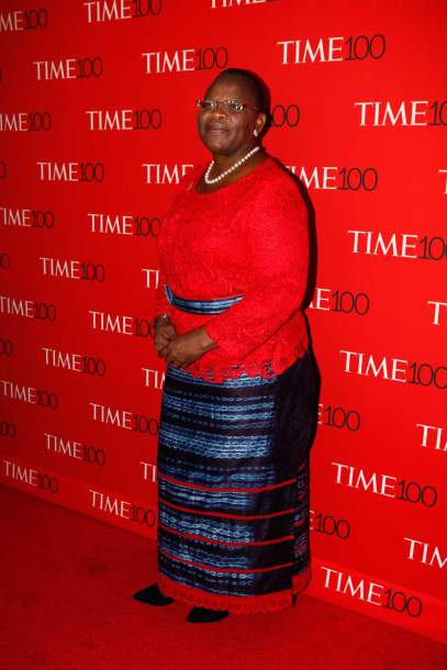 attends the TIME 100 Gala at Lincoln Center in New York, NY on Apr. 21, 2015.