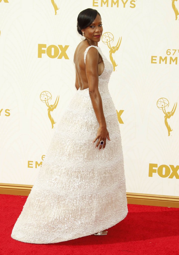 51856013 Celebrities arriving at the 67th Annual Primetime Emmy Awards at the Microsoft Theatre in Los Angeles, California on September 20, 2015. Celebrities arriving at the 67th Annual Primetime Emmy Awards at the Microsoft Theatre in Los Angeles, California on September 20, 2015. Pictured: Regina King FameFlynet, Inc - Beverly Hills, CA, USA - +1 (818) 307-4813
